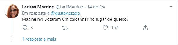 Rodrigo Sant'Anna causa por aparência