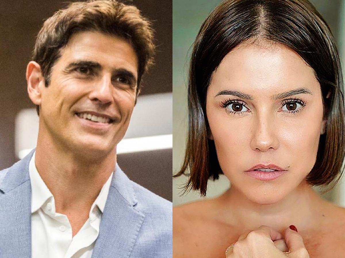 Reynaldo e Déborah Secco falam sobre possível perseguição de Bolsonaro (Foto: Reprodução/Montagem TV Foco)