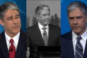 William Bonner (Foto: Reprodução/TV Globo/Montagem TV Foco)