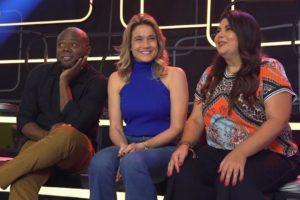 globo O trio de apresentadores do Se Joga (foto: divulgação/TV Globo)