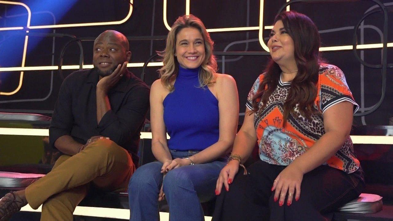 O trio de apresentadores do Se Joga (foto: divulgação/TV Globo)
