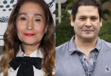 A famosa apresentadora da Tarde é Sua da RedeTV!, Sonia Abrão e o seu irmão, Elias Abrão constroem carreira invejável na TV brasileira (Foto: Reprodução/Montagem TV Foco)