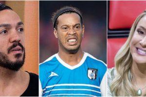 Belo, Ronaldinho Gaúcho e Claudia Leitte acumulam dívidas milionárias (Reprodução)
