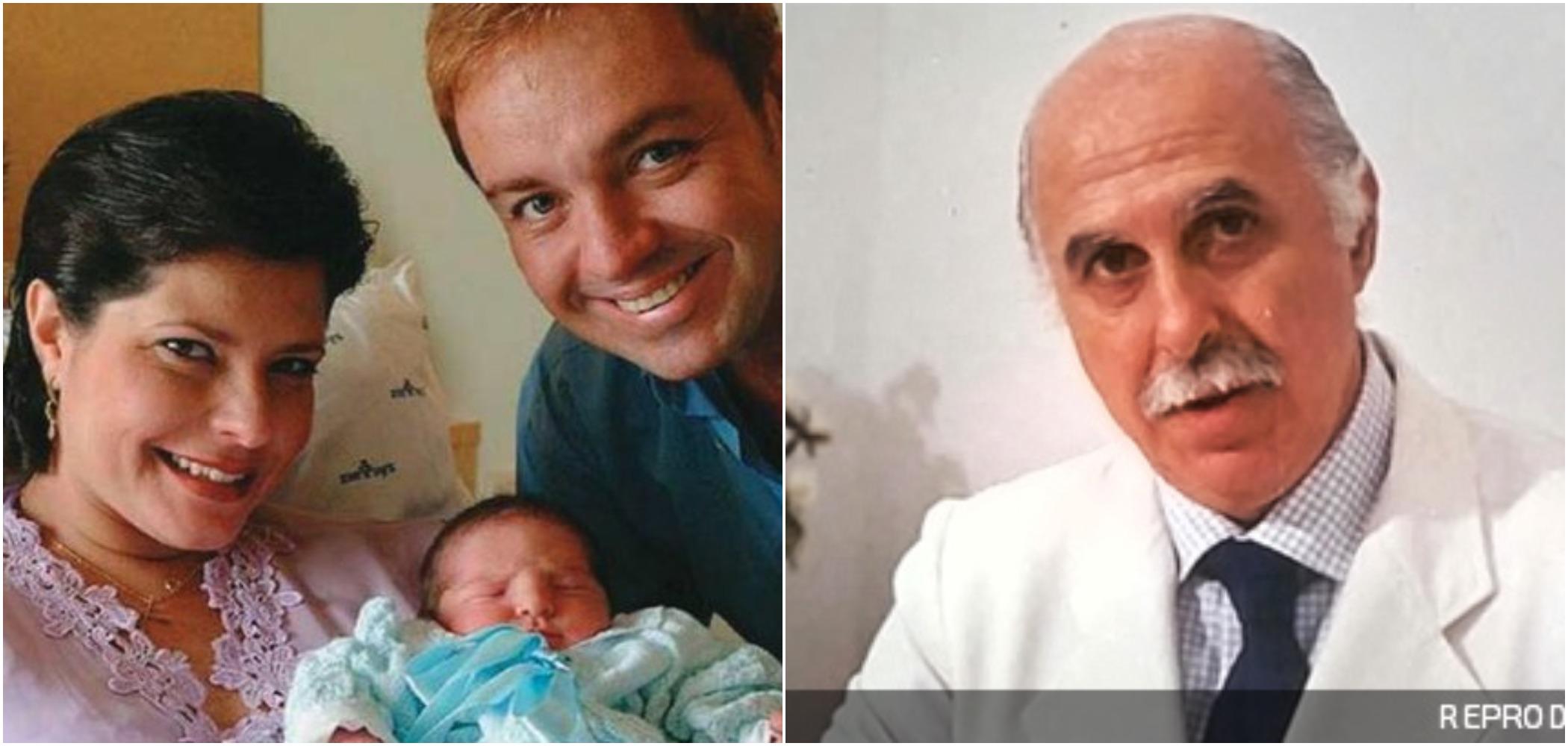 Filhos de Gugu e Rose Miriam foram concebidos em clínica de Roger Abdelmassih (Reprodução)