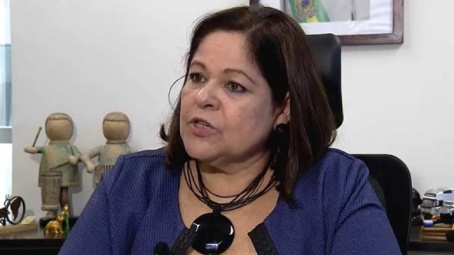 Angélica Goulart é a assistente social que deu nome a antiga Fundação Xuxa Meneghel (Foto: Reprodução)