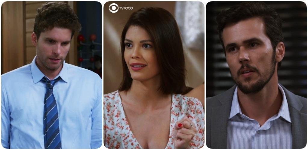 Kyra, Rafael e Alan formarão um triangulo amoroso em Salve-se Quem Puder