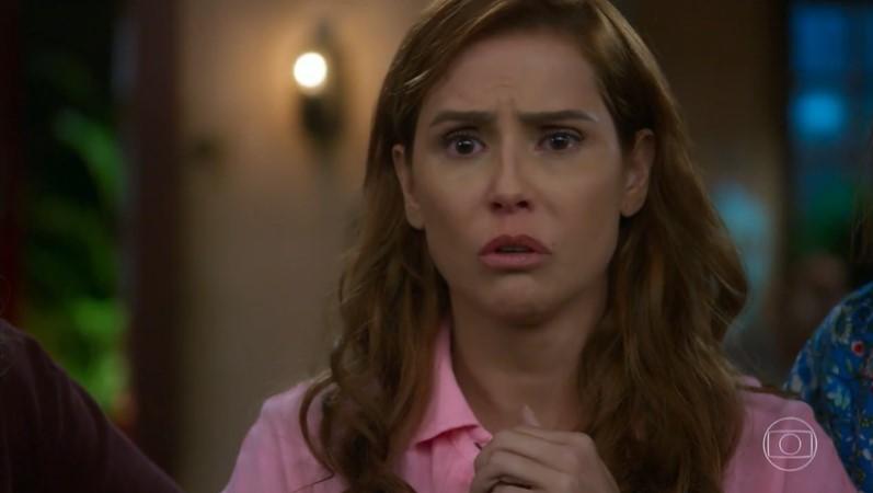 Alexia pode perder o boy em Salve-Se Quem Puder (foto: reprodução/TV Globo)