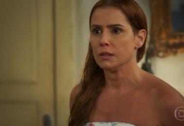 Alexia (Deborah Secco) em cena de Salve-se Quem Puder