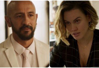 Álvaro (Irandhir Santos) mandará matar Estela (Letícia Lima) em Amor de Mãe (Foto: Reprodução/Globo/Montagem TV Foco)