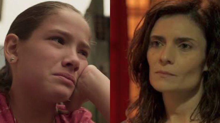 Brenda irá colocar a fila contra Betina nos próximos capítulos de Amor de Mãe (Montagem: TV Foco)