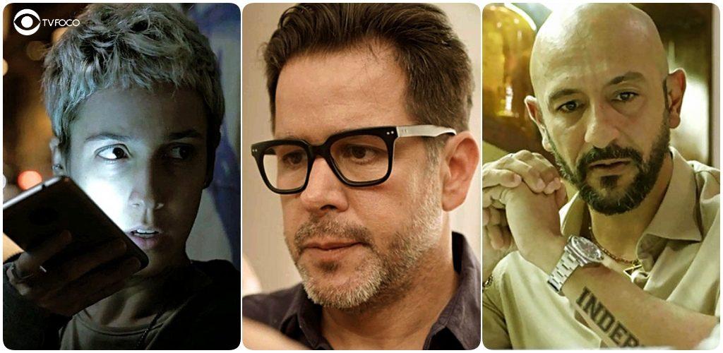 Amanda, Raul e Álvaro são personagens de Amor de Mãe