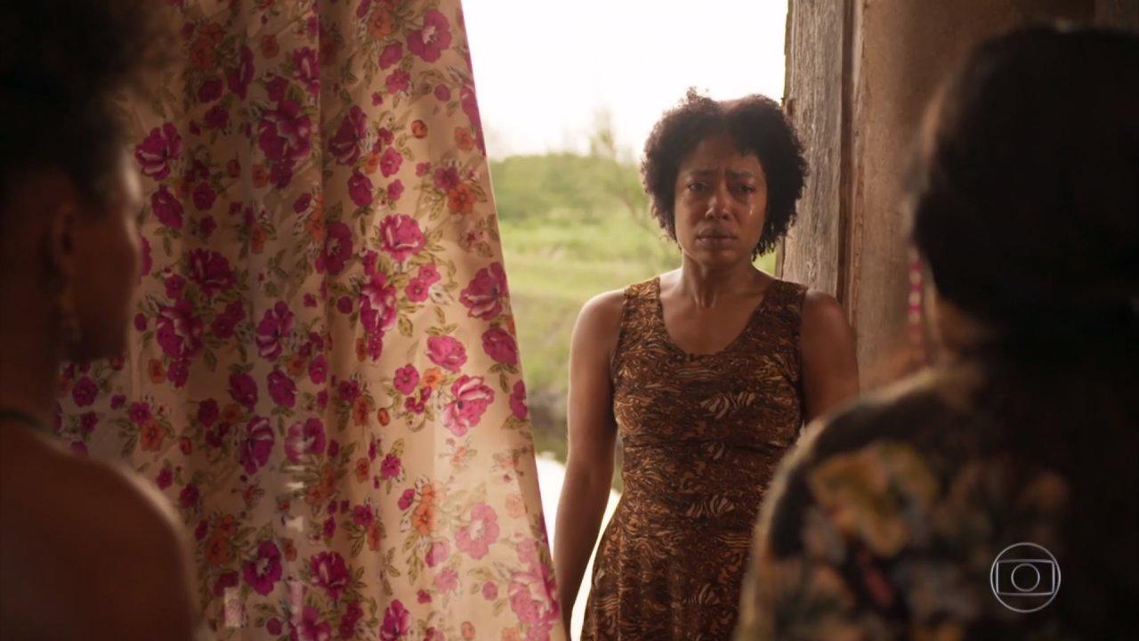 Rita, personagem de Mariana Nunes, será a próxima vítima da autora Manuela Dias em Amor de Mãe (Foto: Reprodução/Globo)