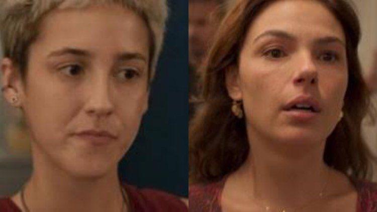 Amanda salva a vida de Betina das garras de Álvaro e enfermeira ganha poder na PWA em Amor de Mãe (Montagem: TV Foco)