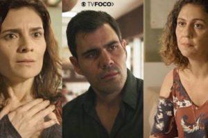 Em Amor de Mãe, Leila será desmascarada por sua amiga Penha, e Magno fica tomado pelo ódio (Montagem: TV Foco)