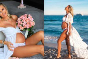 Ana Paula Siebert psota foto contando sobre experiência e expectativas sobre a gravidez da primeira filha (Foto:Reprodução/Instagram)