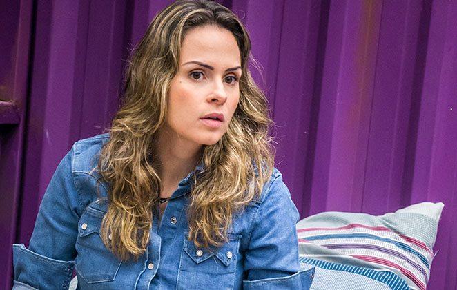 Ana Paula, segunda participante expulsa do BBB (Foto: reprodução/Globo)