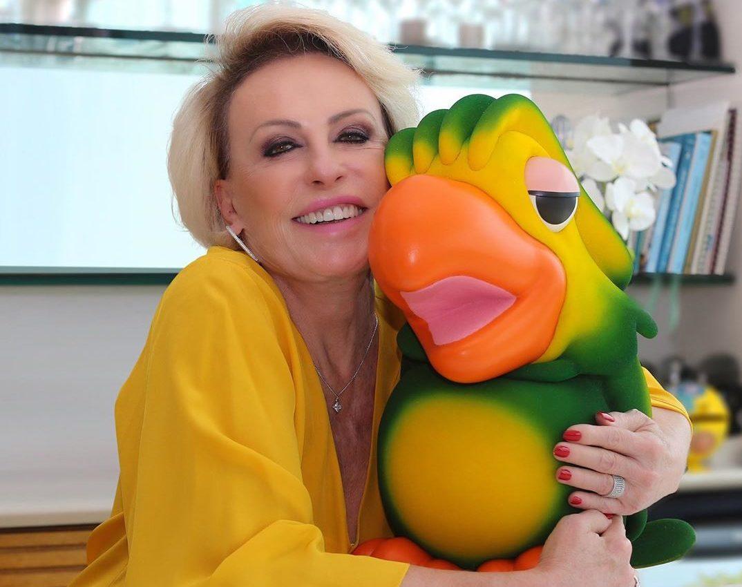 A famosa apresentadora do Mais Você, da Globo, Ana Maria Braga deixou os seus telespectadores de queixo caído ao aparecer no programa desta manhã (Foto: reprodução/Instagram)