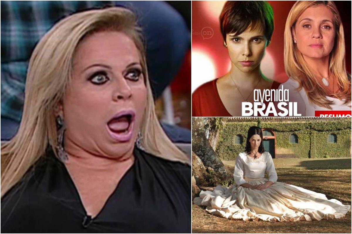 audiências Cristina Rocha explode no SBT, Escrava Isaura dá show e Avenida Brasil é líder única. Foto: Reprodução