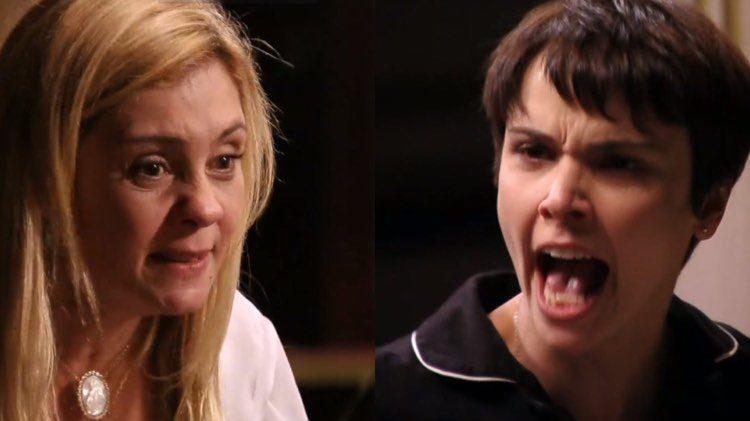 """Para felicidade dos fãs, Globo exibe na íntegra cena do """"Me Serve Vadia"""" de Avenida Brasil (Montagem: TV Foco)"""