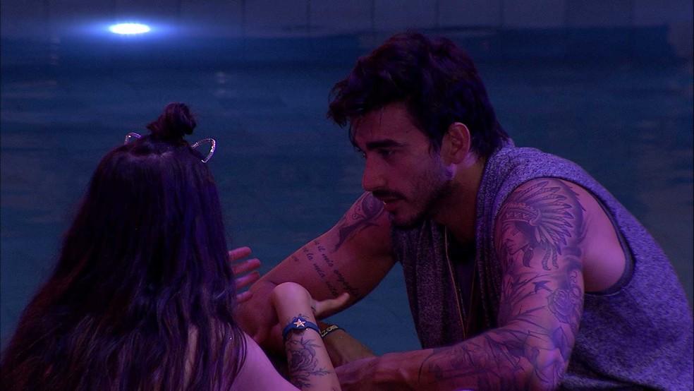 Guilherme quis ficar com Bianca no BBB - Foto: Reprodução