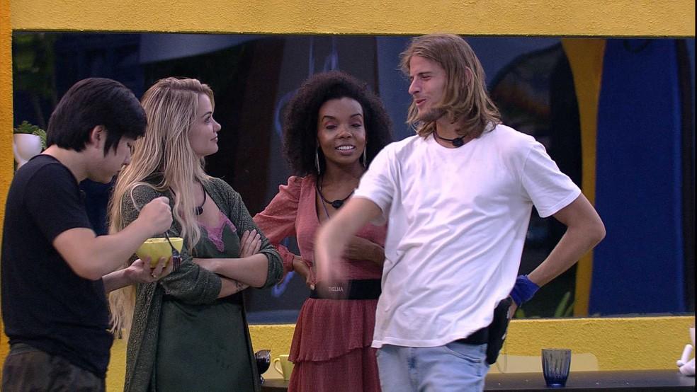 Daniel estaria investindo em Marcela no BBB - Foto: Reprodução