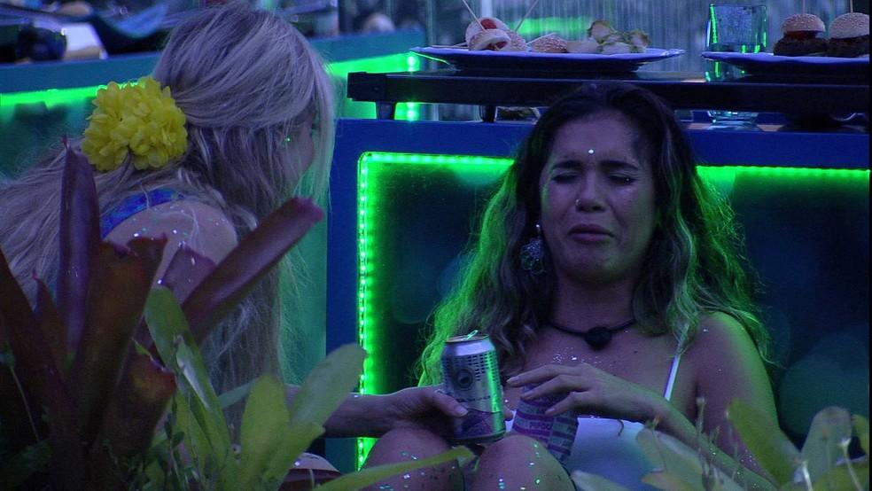 Gizelly chorou após beijo entre Marcela e Daniel - Foto: Reprodução