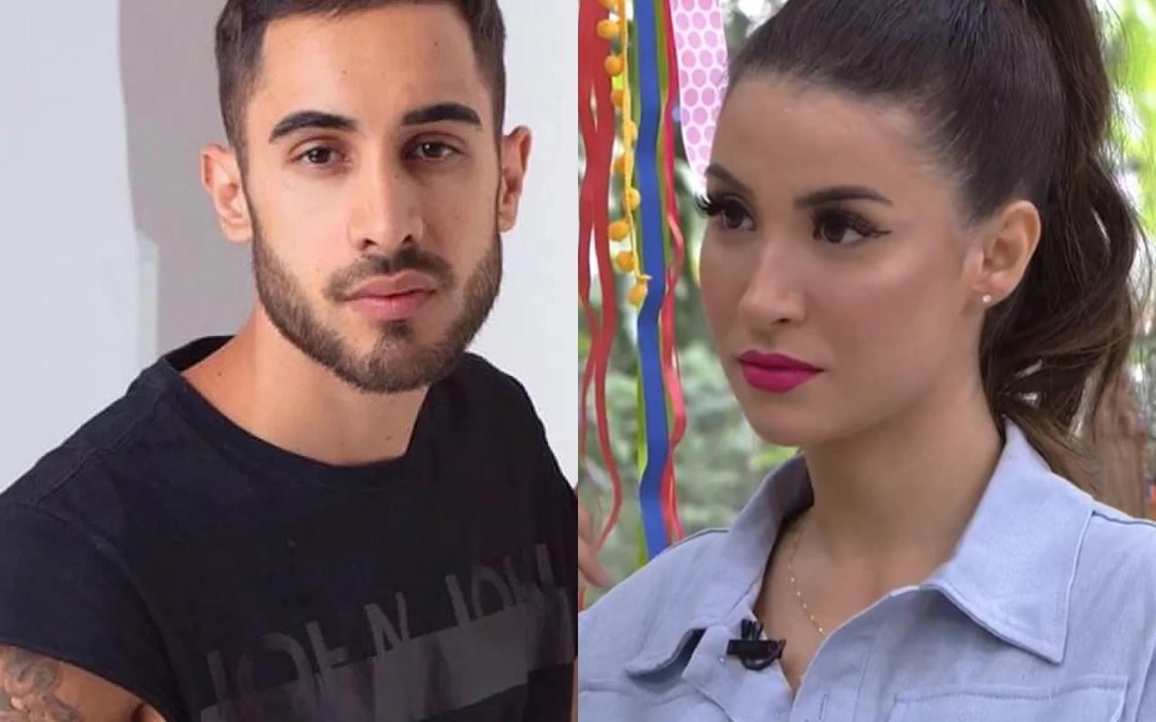 DIogo Melim é flagrado comemorando saída de Bianca Andrade do BBB20 (Foto: reprodução)