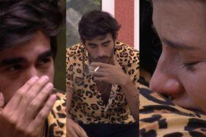 BBB20: Guilherme teve uma noite difícil após eliminação de Boca Rosa e até brigou com Gabi (Foto: reprodução/Globoplay)