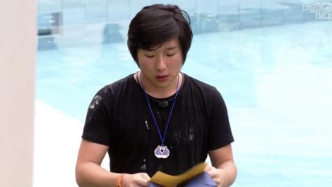 BBB20: Pyong Lee vence prova do anjo e poderá conhecer seu filho (Foto: reprodução/Globoplay)