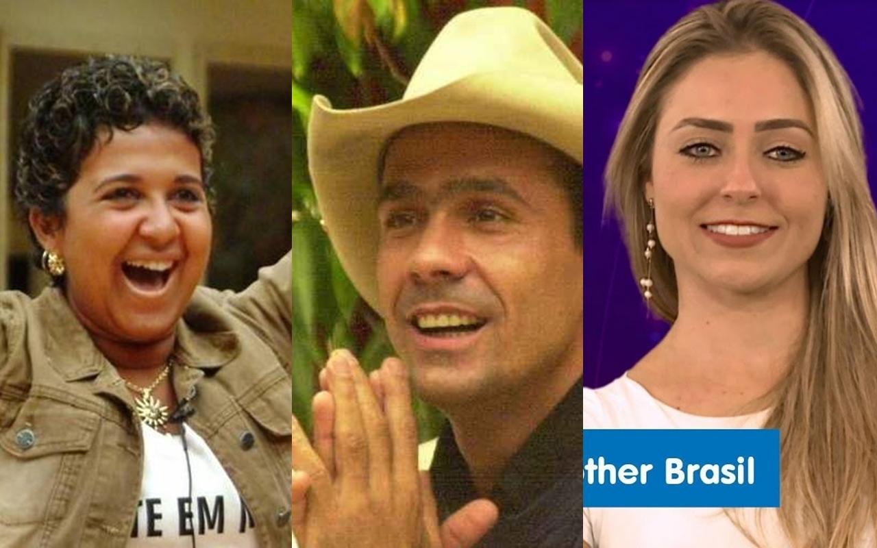 Ex-participantes do Big Brother Brasil que foram à falência (Foto: Montagem Tv Foco) BBB