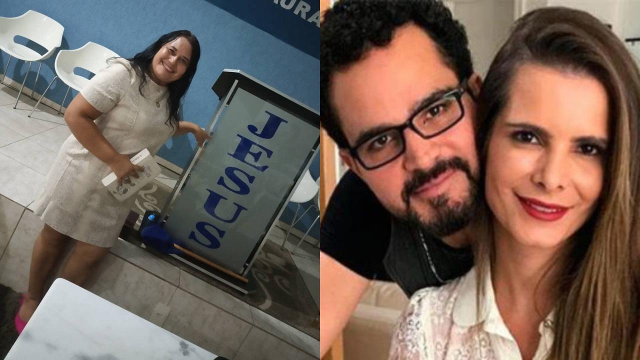 Cleo Loyola, Luciano Camargo e Flávia Camargo (Foto: Reprodução/Instagram/Montagem TV Foco)