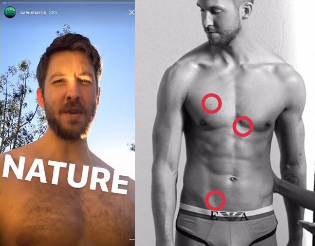Sinais que confirmam o nude do DJ (FOTo: Reprodução)