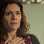 Leila (Arieta Corrêa) será desmascarada e escorraçada em Amor de Mãe (Foto: Reprodução/Globo)