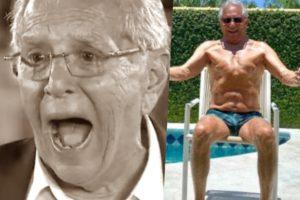 Carlos Alberto de Nóbrega aos 83 anos, teve seu fetiche sexual divulgado (Foto reprodução)