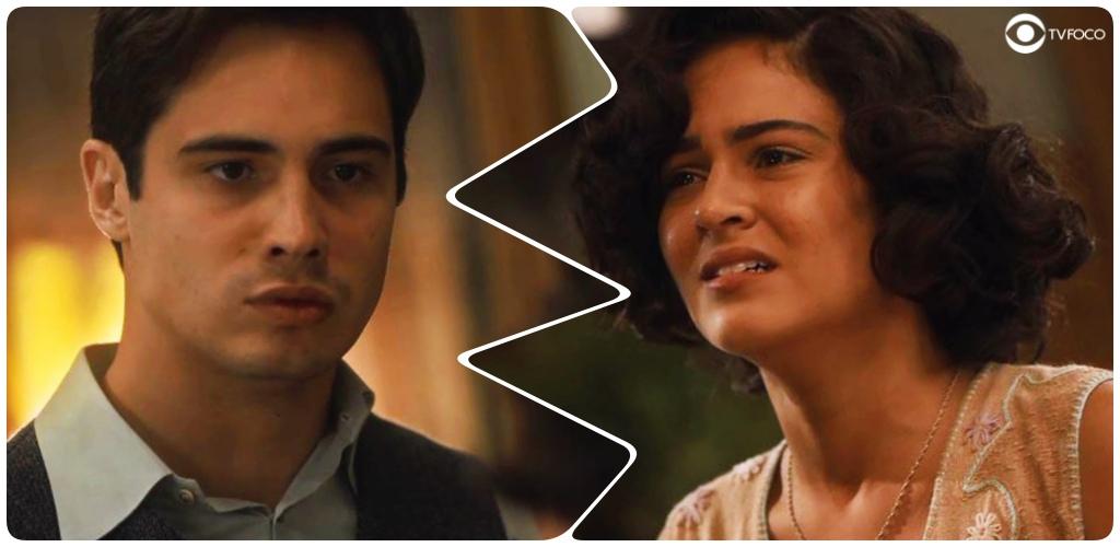 Carlos perde a paciência com Isabel em Éramos Seis
