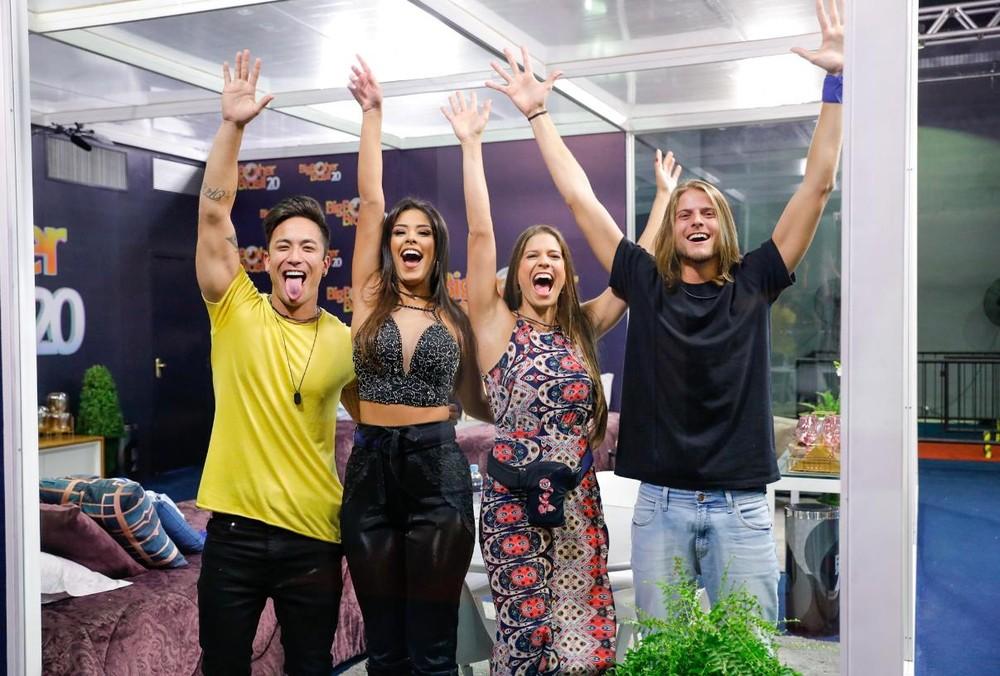 Os integrantes da Casa de Vidro do BBB 20 - Foto: Divulgação/Globo