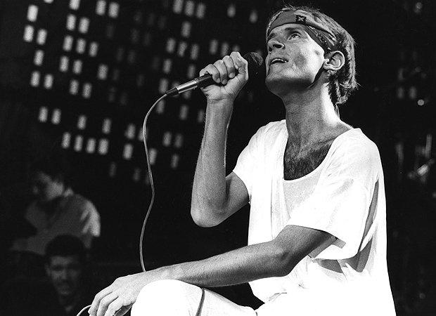 O cantor Cazuza (Foto: reprodução)