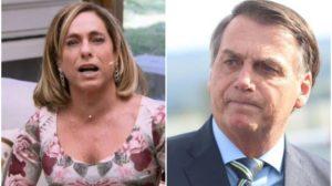 Cissa Guimarães mandou recado pra Bolsonaro na Globo - Foto: Reprodução