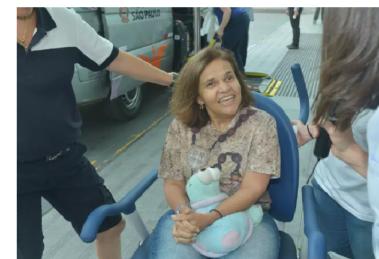 Após traumatismo craniano, a atriz Claudia Rodrigues deixa o hospital (Foto:Reprodução/AgNews)
