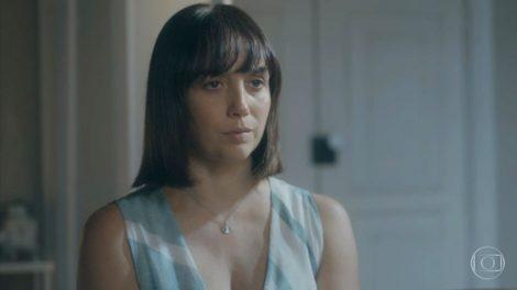 Clotilde (Simone Spoladore) revelará farsa e contará seu segredo em Éramos Seis (Foto: Reprodução/Globo)