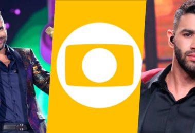 Gusttavo Lima poderá fazer show para ser transmitido na Globo (Foto montagem: TV Foco)