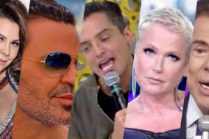 Leo Dias esteve no palco do Superpop falou de Fernanda Souza, Xuxa, Eduardo Costa, Silvio Santos e muito mais (Foto reprodução)