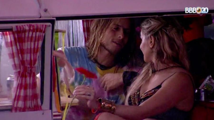 Daniel se declara para Marcela no BBB (Foto: Reprodução/ GloboPlay)