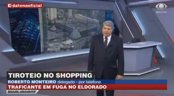 Datena no Brasil Urgente (Foto: Reprodução/Band)