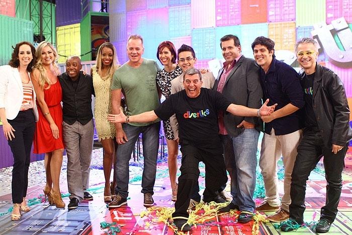 O programa humorístico Divertics (Foto: reprodução/Globo) jorge fernando