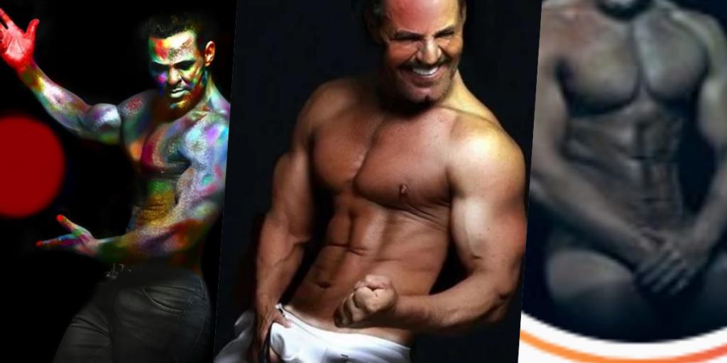 O cantor Eduardo Costa segue dando o que falar em suas fotos bombásticas nas redes sociais (Foto montagem: TV Foco)