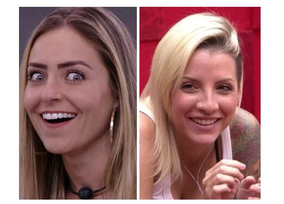 Ex-BBBs Paula von Sperling e Clara Aguilar tem briga feia nas redes sociais (Foto: Reprodução/Globo)