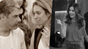 William Bonner e Natasha se conheceram antes de Fátima Bernardes que virou assunto ao dançar ao vivo na Globo (Foto montagem: TV Foco)