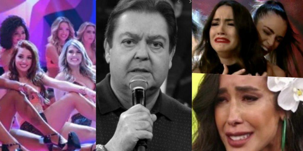 Bailarinas do Faustão tem realidade exposta nos bastidores da atração da Globo (Foto reprodução)