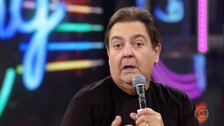 Faustão detonou dirigentes do Flamengo (Reprodução)